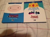 Adventure Time season 1 + 2 blu ray