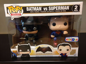 Funko Pop Metallic Batman V Superman 2 Pack