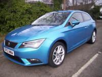 2013 (63 reg), Hatchback Seat Leon 2.0 TDI SE (Tech Pack) SportCoupe (s/s) 3dr