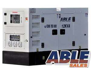 Diesel Generator 12kVA 240V GL12X1 Bentley Canning Area Preview