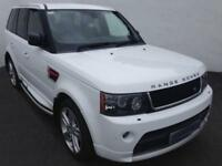 2013 62 LAND ROVER RANGE ROVER SPORT 3.0 SDV6 HSE RED 5D AUTO - PX/FINANCE