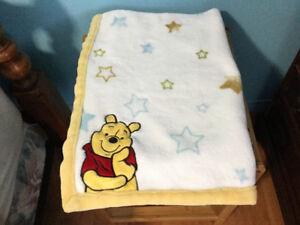 couverture de Winnie très douce et chaude