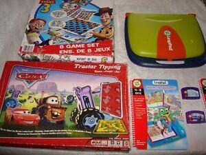 LeapPad. 8 jeux Histoires de jouets. Les bagnoles etc