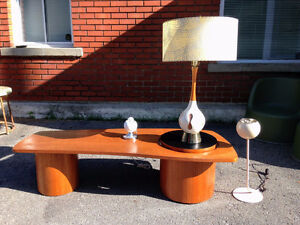Table Basse Salon Mid Century Moderne TECK