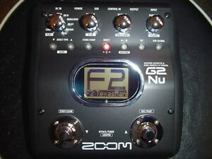 Zoom G2Nu Guitar effects & Audio I/F Pedal