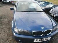 2003 BMW 3 SERIES 316i SE 16v 4dr