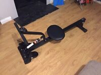 Barely used rowing machine with tracking unit/computer