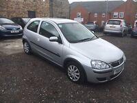 2004 Vauxhall Corsa 1.2 SXI 16v, 3 Door, Silver, 70k Miles, FSH, 12 MOT