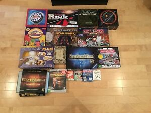 Various Board and Card Games for Sale