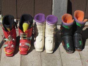 ski boots-used-good condition