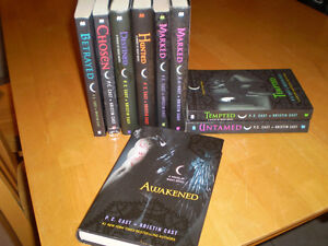 HOUSE OF NIGHT BOOKS BY P. C CAST
