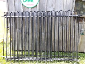 wrought iron fence  25ft long