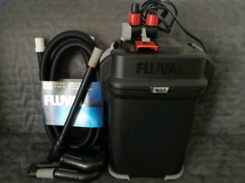FLUVAL 307 EXTERNAL FILTER WITH NEW HOSES