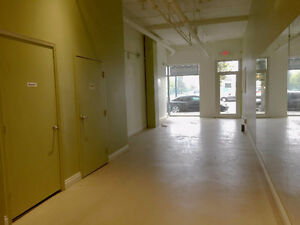 Retail street front space available