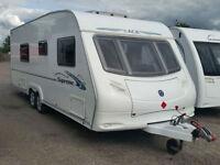 ACE Supreme Twinstar. Twin Axle. Fixed Bed, 4 Berth, Great big bathroom