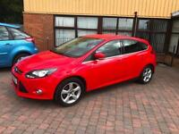 Ford Focus 1.6 TI-VCT ( 125ps ) Powershift 2014MY Zetec Navigator