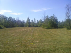 Rare country building lot
