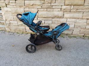 Double Stroller: City Select Baby Jogger (Teal)