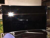 "Samsung 48"" Smart curve tv"
