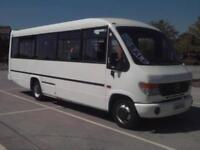 Mercedes-Benz VARIO PLAXTON BEAVER 3 28 PASSENGER SEAT WHEELCHAIR BUS COIF TACHO