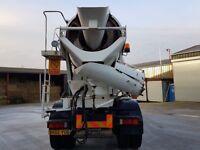 Concrete truck (mixer)