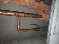 Experienced plumber for hire