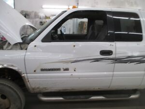Wanted:  Driver side front door for 1998-2001 Dodge Quad Cab.