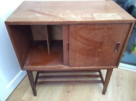 REDUCED Retro authentic wooden cabinet