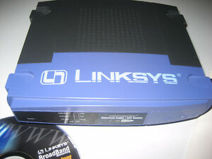 Linksys Ethernet Cable Router
