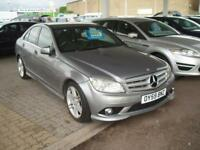 MERCEDES C CLASS C220 CDI BLUEEFFICIENCY SPORT Silver Manual Diesel, 2009