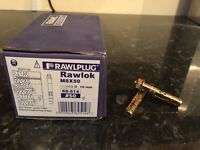 Rawplug projecting bolts m8x50mm FULL BOX