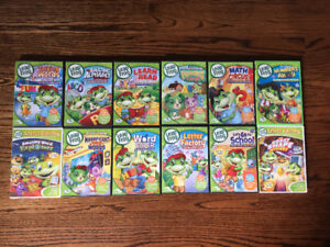Leap Frog DVD's - 12