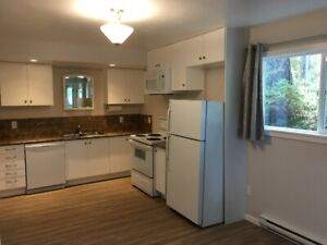 Newly renovated 2 bedroom garden level suite - $1,650