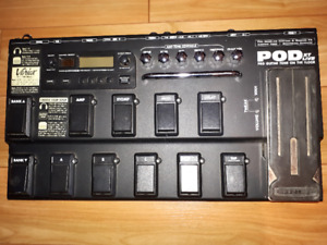 Line 6 POD XT Live Multieffects pedal