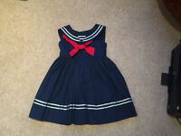 Designer Girls Party Dress Age 4