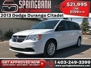 2015 Dodge Grand Caravan SXT w/DVD, BackUp Cam, $159 B/W INSTANT
