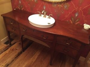 Antique Bathroom Sink Unit