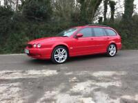 2004 04 JAGUAR X-TYPE 2.5 V6 SPORT AWD 4X4 MANUAL ESTATE BRIGHT RED IMMACULATE
