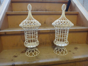 Set of Two Wire Apothecary