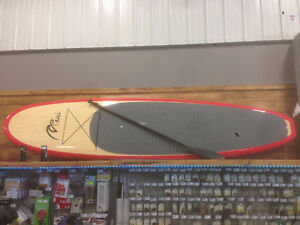 11' PADDLE BOARD WITH TWO PADDLES COMBO REG1499.99! SALE1049.99