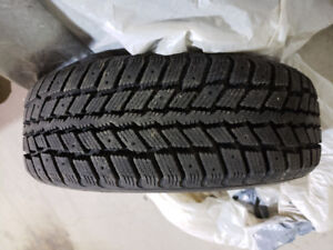 Weather Master Winter tires 205 60 R16 set of four c/w Rims