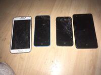 Phones spares or repairs