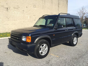 1999 Landrover Discovery II...Low Km...Certified and E-Tested