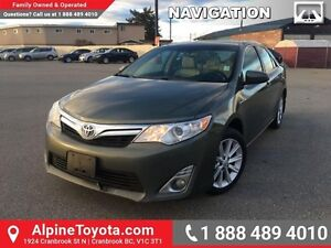 2012 Toyota Camry Hybrid LE   Hybrid, navigation, heated power s