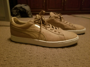 Puma Suede Tan Sneakers - Size 11