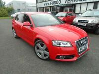 2009 Audi A3 1.4TFSI S Line - Red - Long MOT 2017 + 1/2 Leather interior!