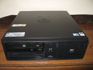 hp rp 5700 core 2 duo 2.13 ghz 2gig ddr2 80 gig hd-SFF