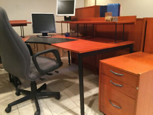 Ex. Desk and matching furniture