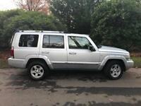 Jeep Commander 3.0CRD Auto L/Edition 74k Miles A Family Business Est 18 years
