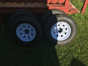 Camper/trailer tires on rims